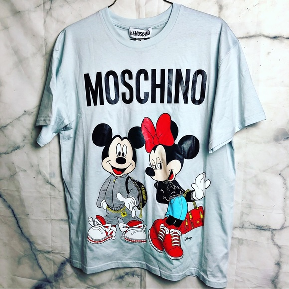 Moschino X H M t-shirt M Mickey collection c1b29a452c7